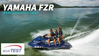 8. Yamaha FZR Test 2014- By BoatTest.com