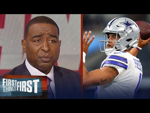 Cris Carter thinks Dak, Cowboys need a win against Giants this Sunday | NFL | FIRST THINGS FIRST