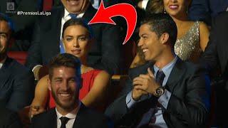 Reacción de Irina Shayk cuando Eva Hache Coquetea a Cristiano Ronaldo