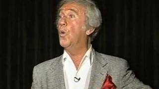 Legendary TV host Soupy Sales tells a nightclub audience about the New Years' Day 1965 ad-lib that got him kicked off the air for...