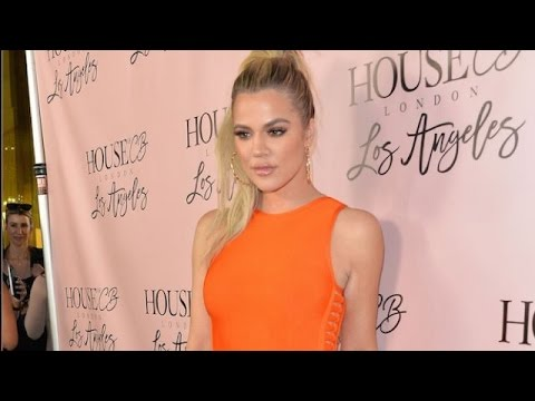Khloe Kardashian Causing Chaos At House Of CB Launch