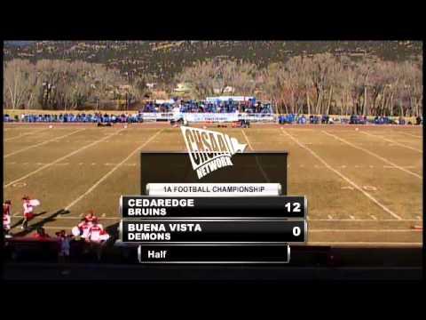 2012 CHSAA Class 1A Football State Championship – Buena Vista vs Cedaredge