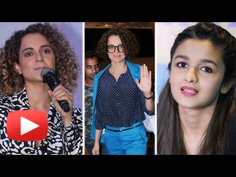 Angry Kangana Ranaut SWEET Reply To Alia Bhatt's C