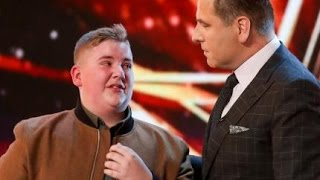 Video David Williams Gets SHAMED Into Hitting the Golden Buzzer! | Auditions 6 | Britain's Got Talent 2017 MP3, 3GP, MP4, WEBM, AVI, FLV Agustus 2018