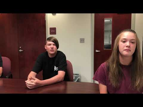Video: D-B underwater robotics teams members, mentor