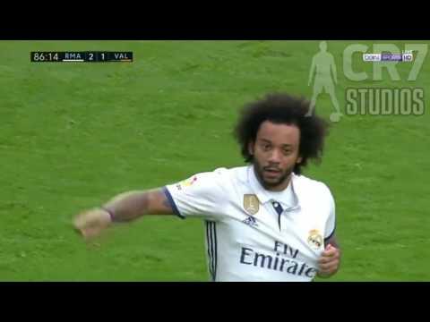 Marcelo Goal   Real Madrid vs Valencia 2 1   La Liga 2017 HD