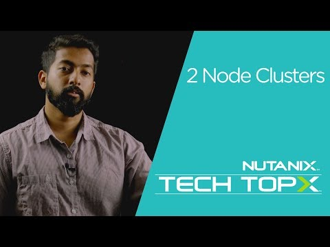 Tech TopX: Two Node Clusters