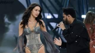 Video Watch Bella Hadid and The Weeknd's AWKWARD Run-In During Fashion Week MP3, 3GP, MP4, WEBM, AVI, FLV November 2017