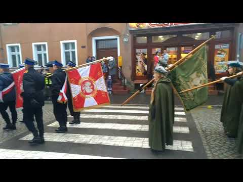 Wideo1: 11 listopada - przemarsz ulicami Wschowy