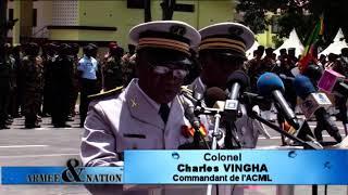 Cérémonie de commémoration du 30 ièm anniversaire de l\'académie militaire Marien NGOUABI
