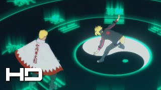 Boruto Unlocks Byakugan Eight Trigrams VS 7th Hokage Naruto | NARUTO: Ultimate Ninja STORM 4