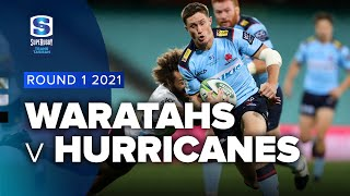 Waratahs v Hurricanes Rd.1 2021 Super rugby Trans Tasman video highlights