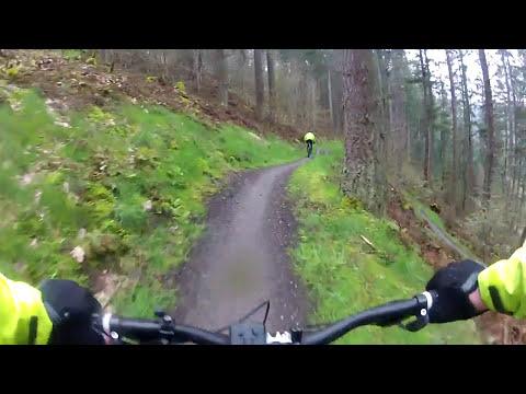 Glentress Blue Route April 2014 (видео)