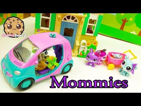 LPS Mommies Series Littlest Pet Shop - Plan Baby Shower - Part 65 Cookieswirlc Video (видео)