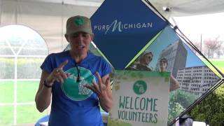 Michigan Cares For Tourism Event Tent Rental
