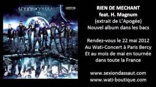 Sexion D'Assaut - Rien De Méchant ft. H. Magnum [L'Apogée