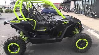 1. 2016 Can-Am Maverick  X ds 1000R Turbo - Carbon Black / Manta Green