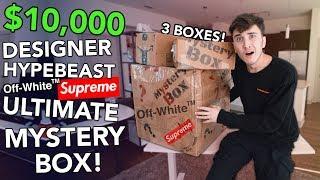 Video $10,000 DESIGNER HYPEBEAST MYSTERY BOX... **INSANE MP3, 3GP, MP4, WEBM, AVI, FLV Juni 2019