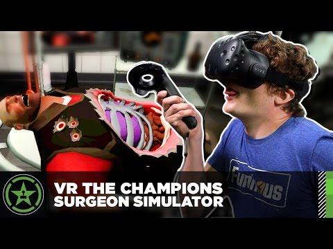 VR the Champions – Surgeon Simulator: Meet the Medic