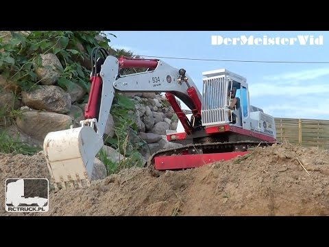 Zipilandia World Of Large and Heavy RC Truck's / RC Construction Site