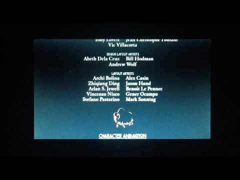 BROTHER BEAR 2(2006) END CREDITS