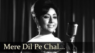 Mere Dil Pe Chal Rahe Hain - Mala Sinha - Sanjay Khan - Dillagi - Old Bollywood Songs