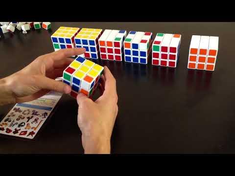 Как собрать кубик Рубика 3х3 - быстро и легко. Лучшая методика для начинающих.