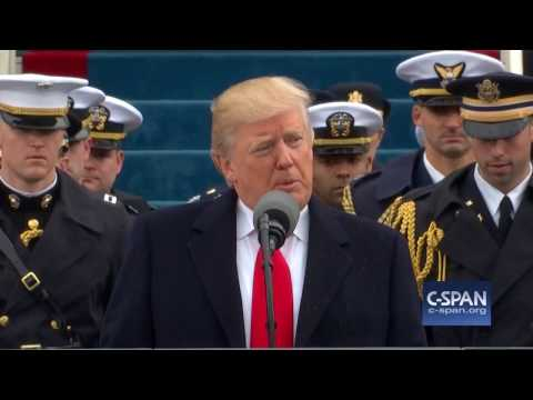 President Donald Trump Inaugural Address FULL SPEECH (C-SPAN) (видео)