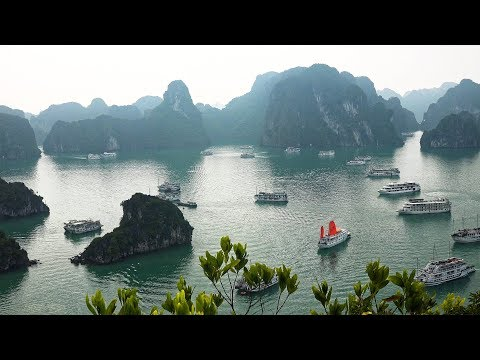 Vietnam's Ha Long Bay in 4K