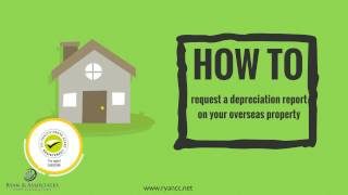 How to get a depreciation report on your property