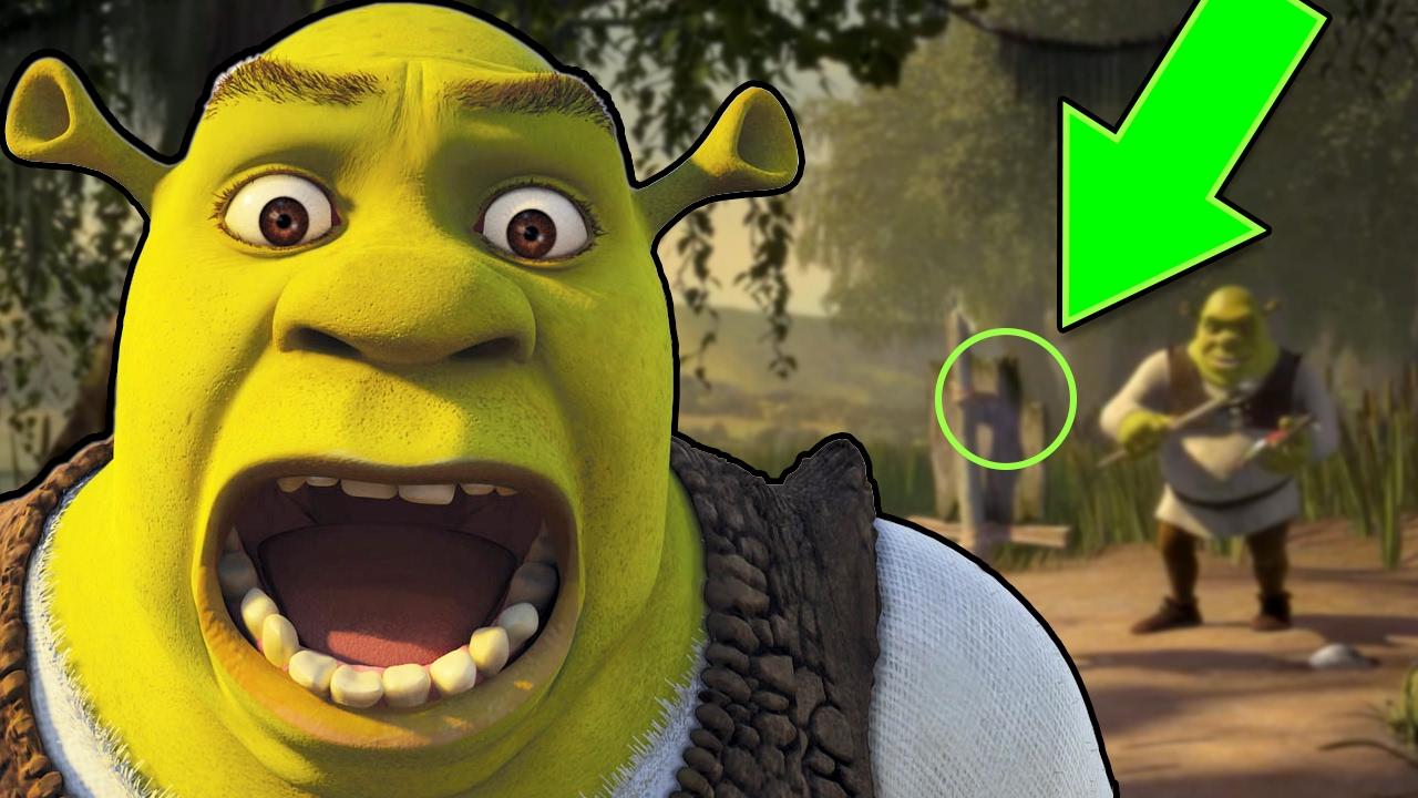 15 erros que você não percebeu em Shrek