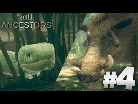 Snake Vs Boar!!! - ANCESTORS THE HUMANKIND ODYSSEY | PART 4 | Gameplay HD