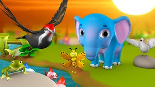 Video Appu Elephant and The Bird Telugu Story అప్పు ఏనుగు - పిచుక  నీతి కధ 3D Kids Bedtime Moral Stories MP3, 3GP, MP4, WEBM, AVI, FLV April 2019