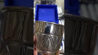 Стакан серебряный «Аркан»
