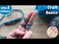 Download Lagu How to Finger Knit with Two Strands (Craft Basics Series) Mp3 Free