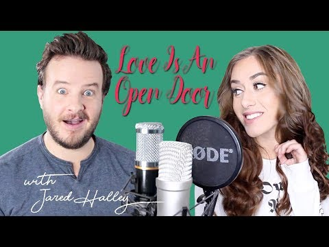 "Kristen Bell, Santino Fontana  ""Love Is An Open Door"" Cover by Georgia Merry"