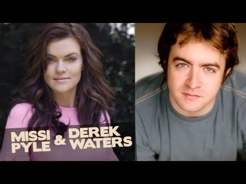 Missi Pyle & Derek Waters title=