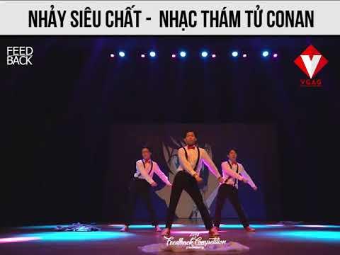 :d  nhảy siêu hài nhạc thám tử conan  <3  -  haivl | hài hước | hài vl