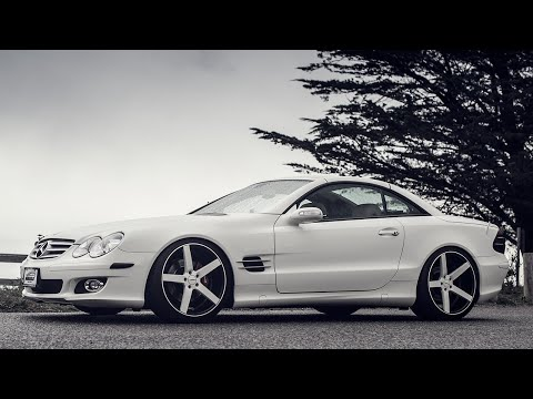 Mercedes-Benz SL550 on Vossen CV3 Wheels by California Wheels