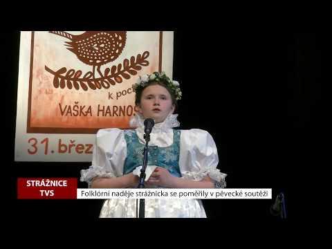 TVS Strážnice - Folklorní naděje se poměřily v pěvecké soutěži