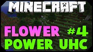 Minecraft: FLOWER POWER UHC #4 [EPIC COMEBACK!] w/AciDicBliTzz
