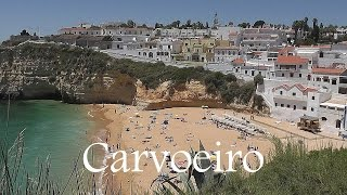 Carvoeiro Portugal  city photos gallery : PORTUGAL: Carvoeiro town & beach - Algarve [HD]