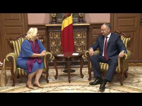Președintele Igor Dodon a avut o întrevedere cu ambasadorul Austriei în țara noastră