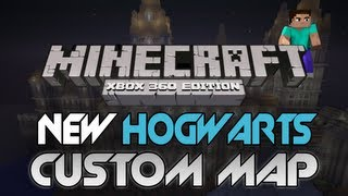 "Minecraft: Xbox 360 - ""NEW Hogwarts Re-creation"" W/ Download 