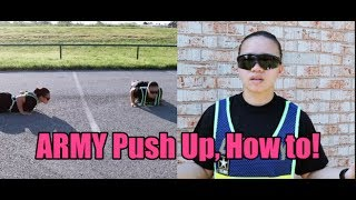 FINALLY! This is what yall have been asking for, and finally, I made it! For people that don't know how to do a push up, this is really for you. No worries, for the people that can at least do 10, a video will come up soon for you! Hopefully, this helps out!Chart: Push ups/ Sit Ups-Push ups: perform the push ups without your knees touching the ground between sets.-Sit Ups: Perform the sit ups with no rest during the time portionWEEK 1: 4 SETS, 30 SEC EAWEEK 2. 4 SETS, 45 SEC EAWEEK 3: 5 SETS, 30 SEC EAWEEK 4: 5 SETS, 45 SEC EAWEEK 5: 4 SET,S, 60 SEC EAWEEK 6: 6 SETS, 60 SEC EAWEEK 7: 6 SETS, 75 SEC EAWEEK 8: 7 SETS, 75 SEC EATo keep your push0 up workout fresh, you can mix up the type of push-ups you do on each set. For instance, set one can be wide arm push ups, set two, diamond pushups, elevate your feet for set three, and finish off with a set of normal push ups, 👉 Snapchat : @Erickabernie👉 Instagram/Twitter: @Erickabernie👉  https://www.patreon.com/Erickabernie?alert=2🇺🇸   I am proud to be an American Soldier 🇺🇸