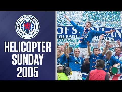 🚁 Helicopter Sunday!   22nd May 2005   SPFL Classics