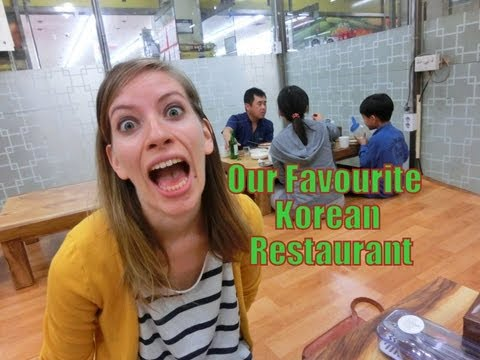 Favorite Korean Restaurant travel video