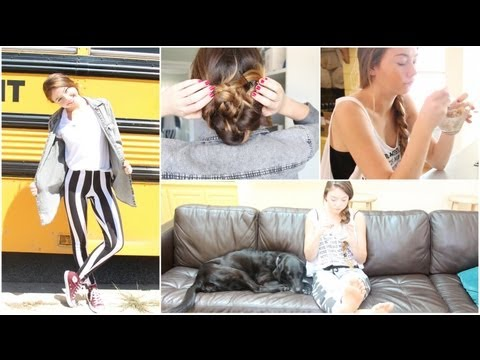 Morning Routine for Back to School%3A Makeup%2C Hair%2C %26 Outfit%21 %2B Time Saving Tips%21