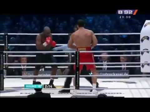 Wladimir Klitschko vs Jean Marc Mormeck - Round 4 Video