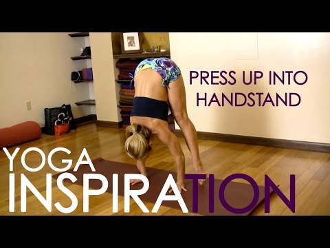 How to Press Up into a Handstand and Get Stronger video
